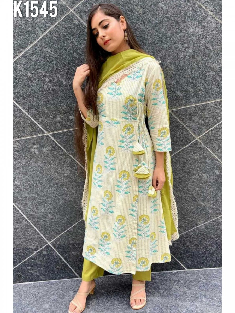 DESIGNER AMERICAN KURTI WITH DIGITAL PRINT WORK K1545