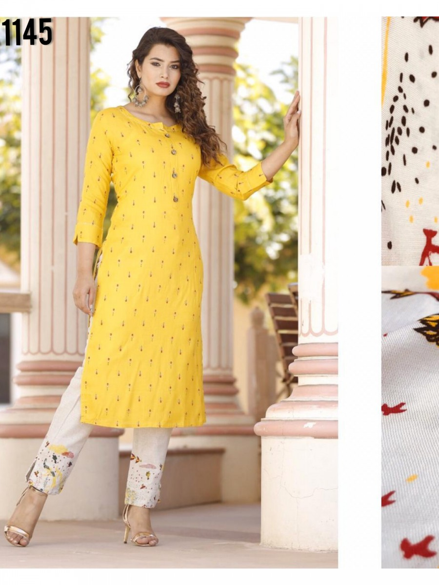 DESIGNER COTTON KURTA K1145