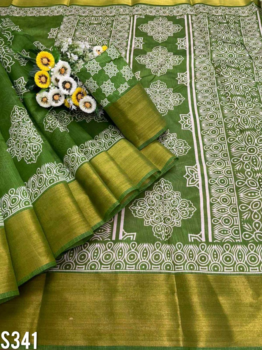 DESIGNER COTTON SAREE S341