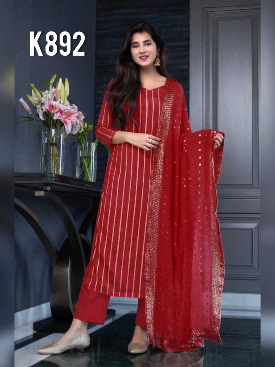 DESIGNER GEORGETTE KURTA WITH SEQUENCE WORK K892