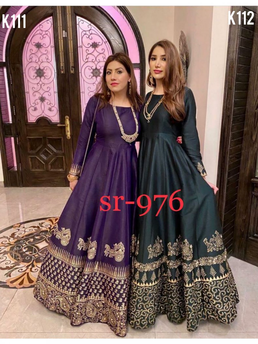 DESIGNER GOWN SET K111 - K112