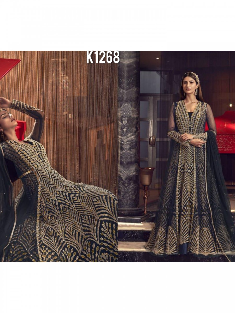 DESIGNER HEAVY PARTY WEAR GOWN K1267