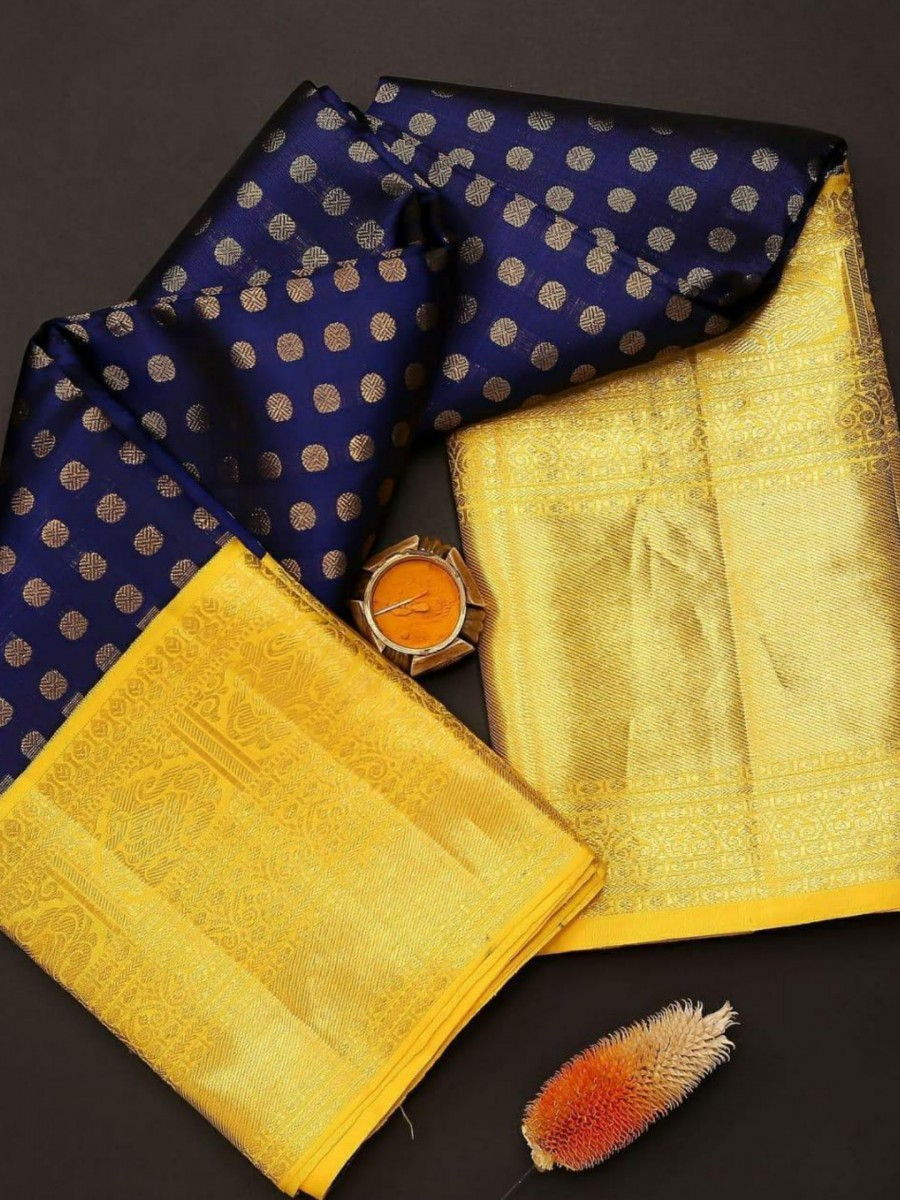 DESIGNER KANCHIPURAM SILK SAREE S16