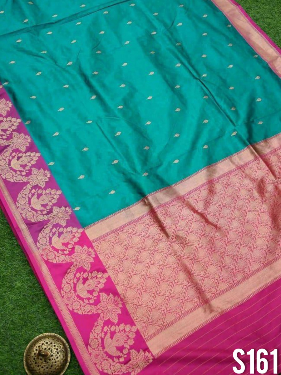DESIGNER KANCHIPURAM SILK SAREE S161