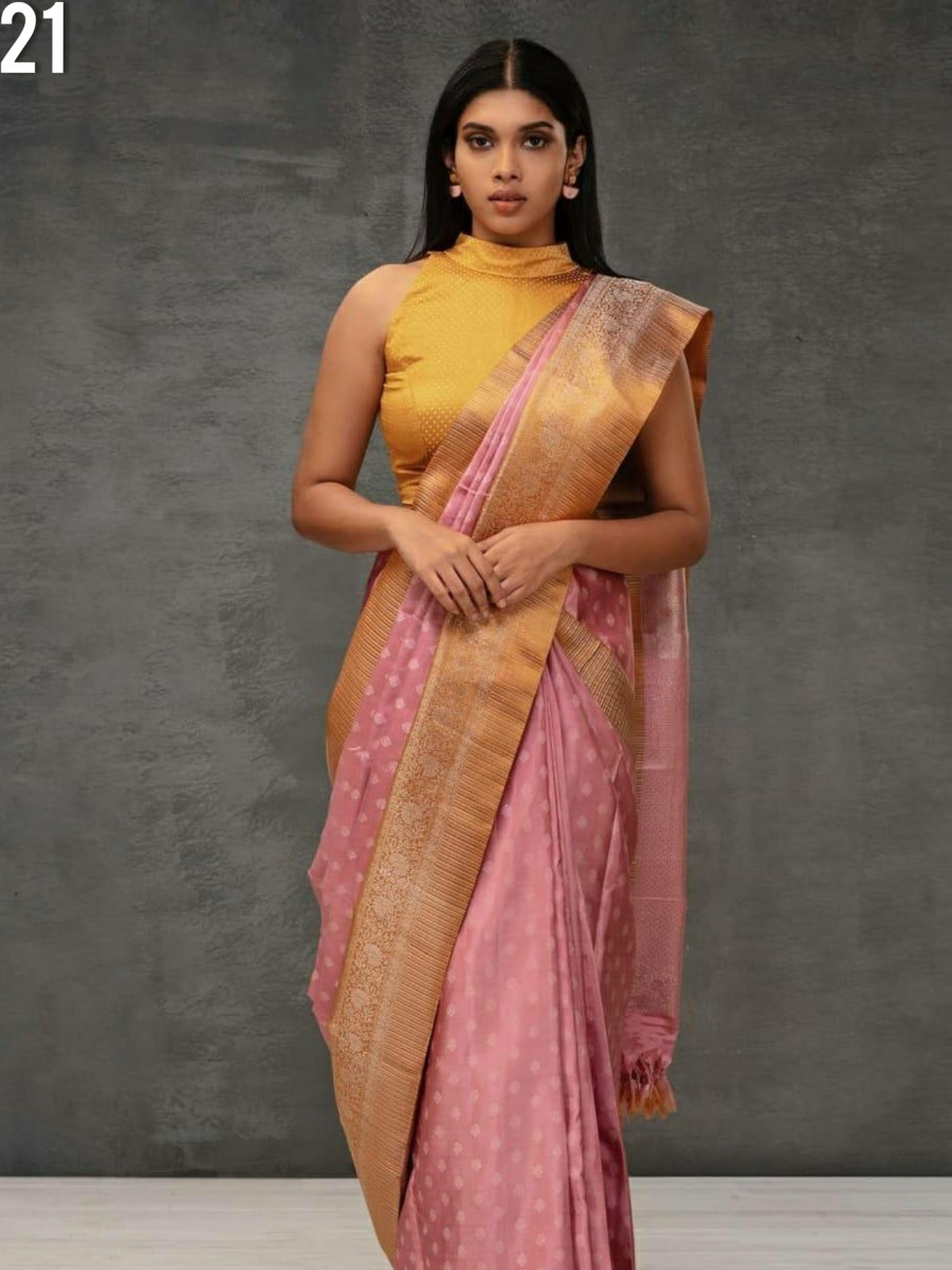 DESIGNER KANCHIPURAM SILK SAREE S21