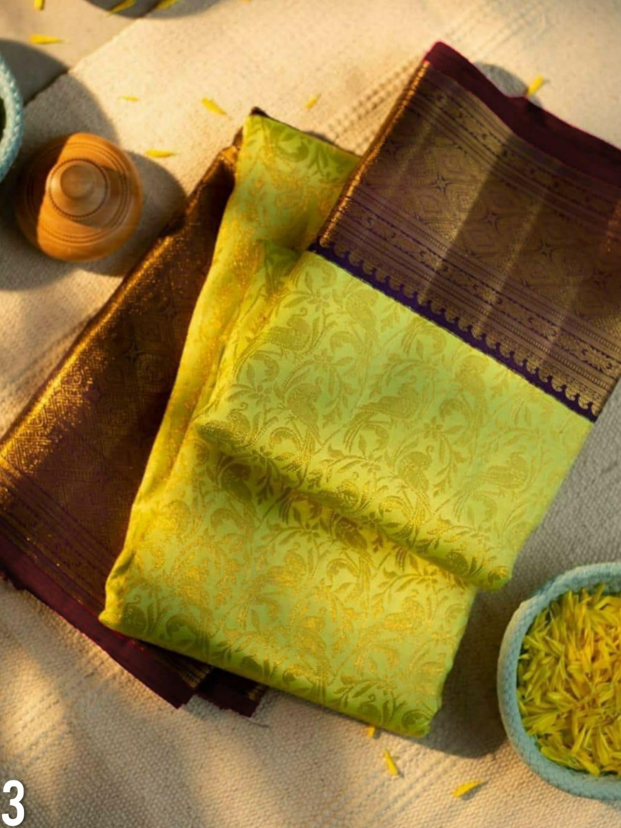 DESIGNER KANCHIPURAM SILK SAREE S23