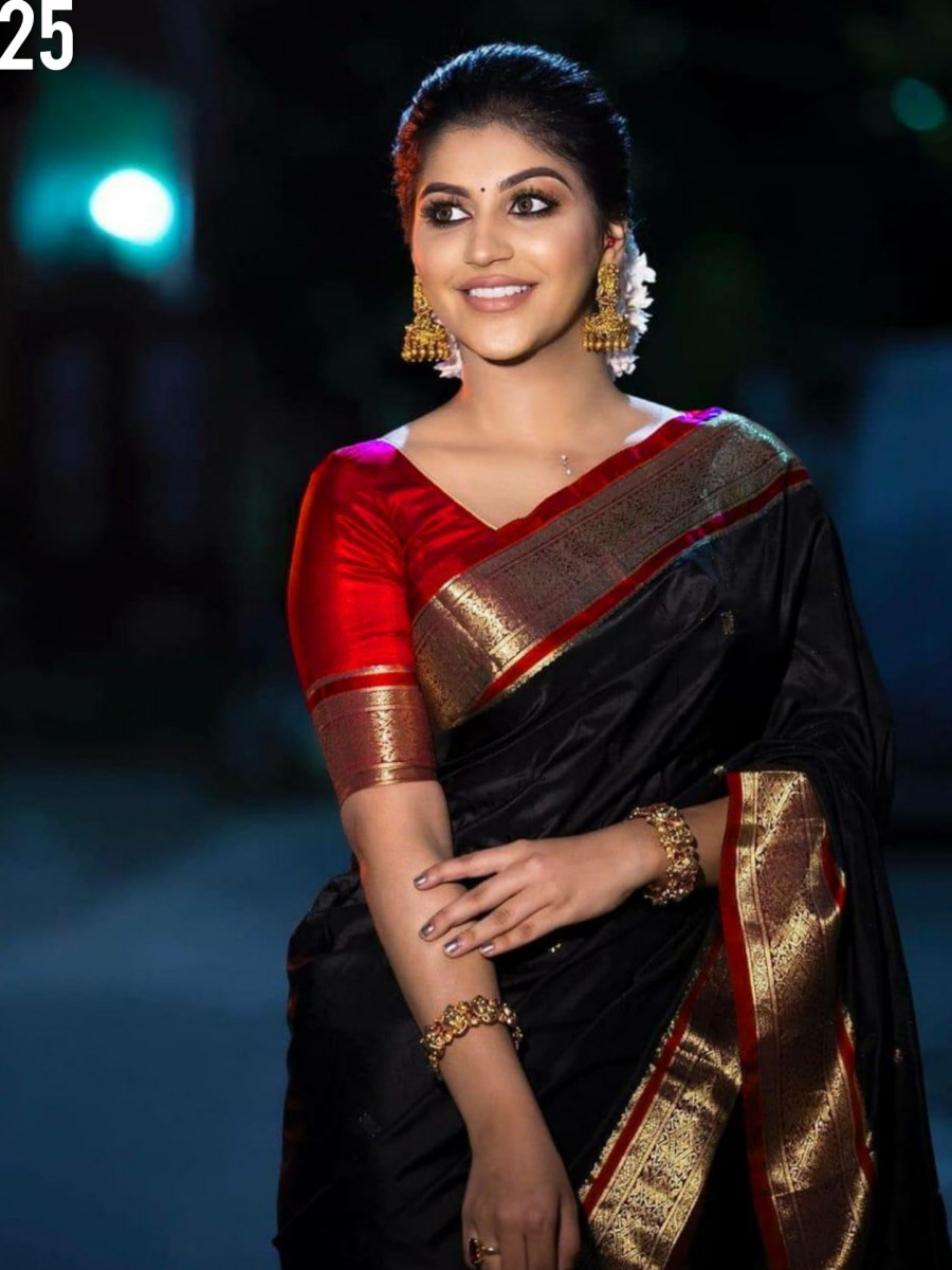 DESIGNER KANCHIPURAM SILK SAREE S25