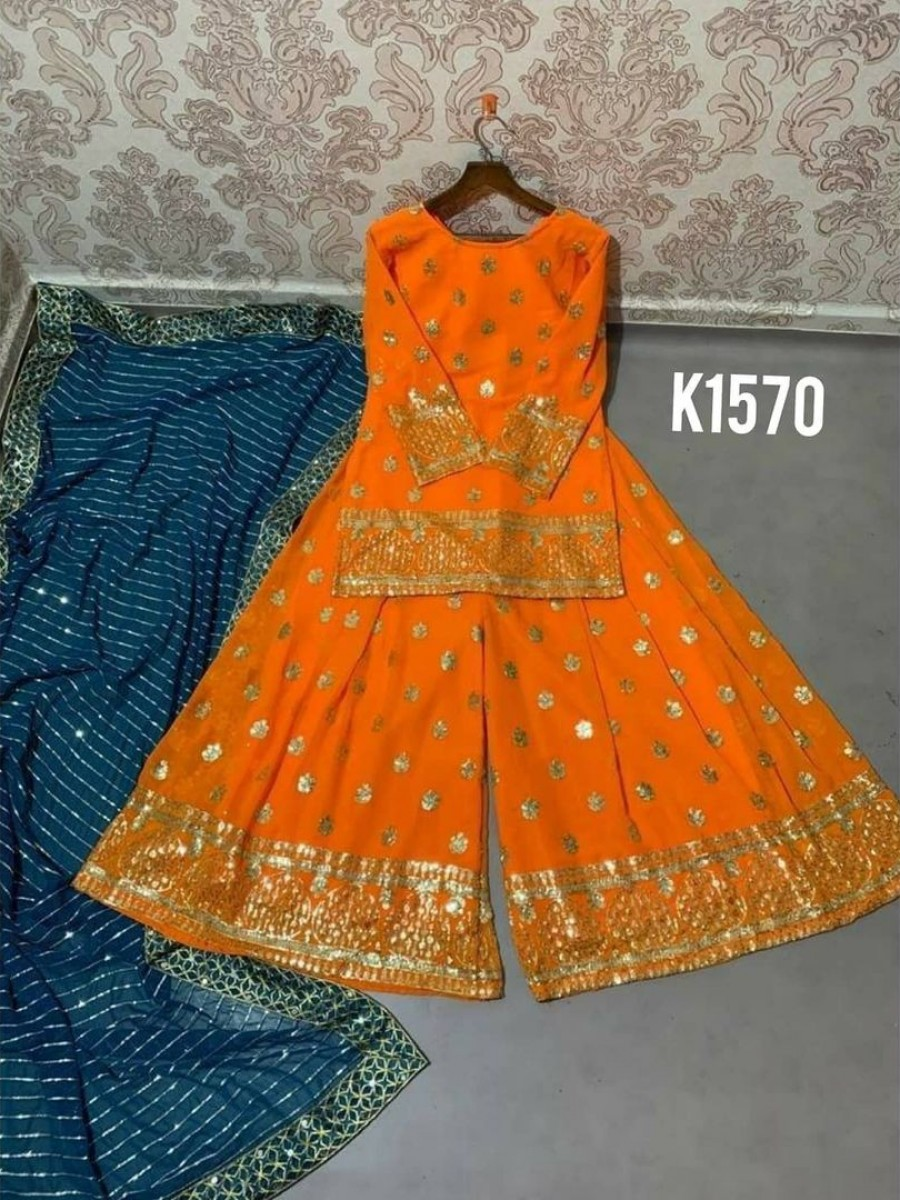 DESIGNER NEW PARTY WEAR KURTI SET K1570