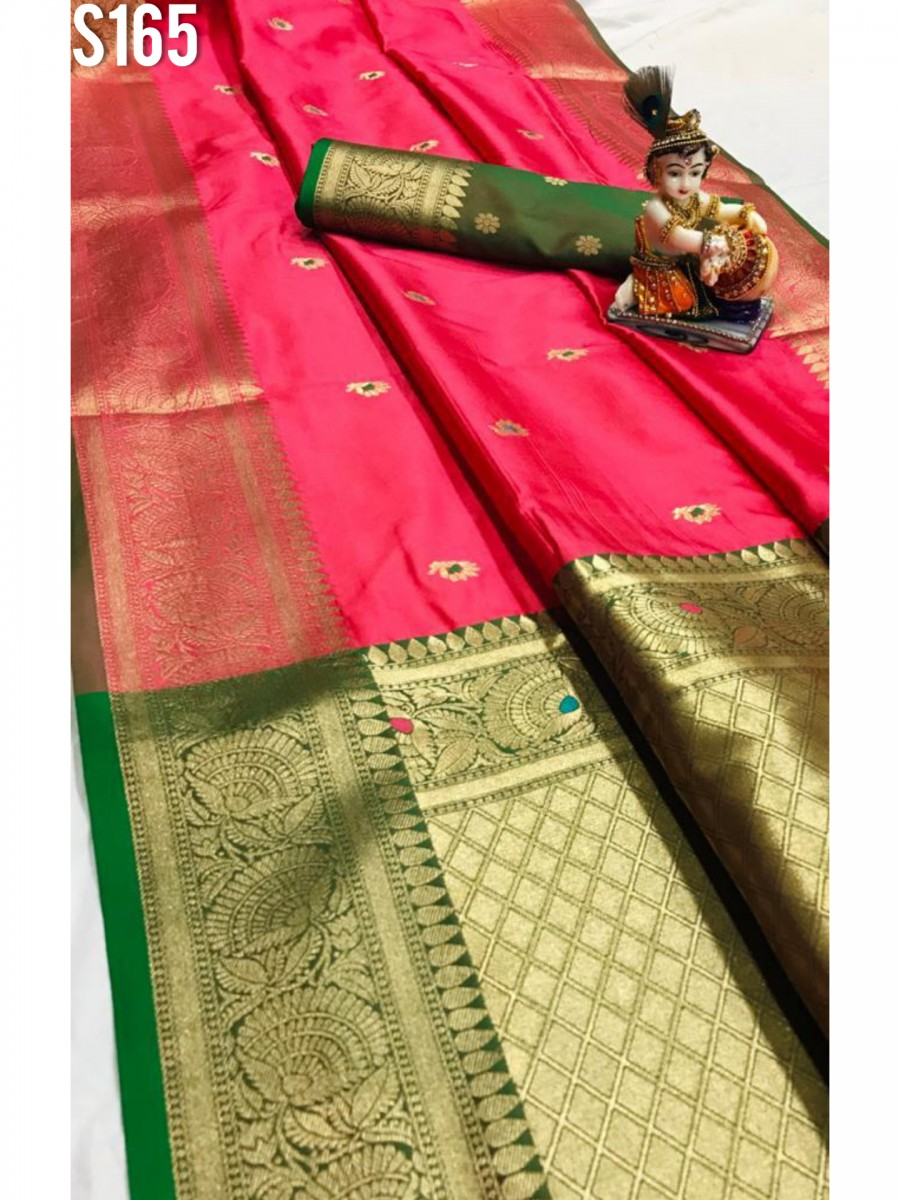 DESIGNER SOFT SILK SAREE S165