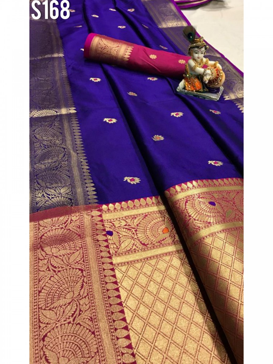 DESIGNER SOFT SILK SAREE S168