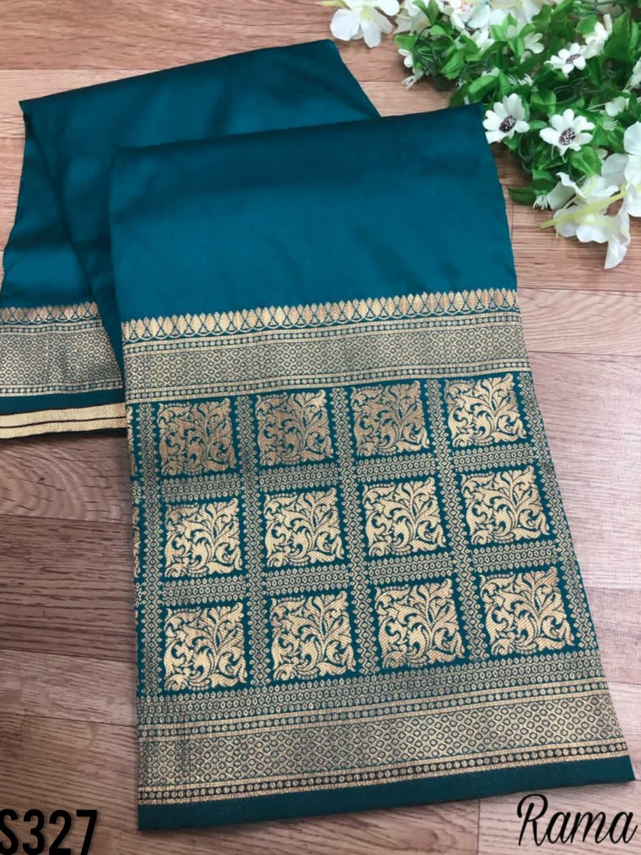 DESIGNER SOFT SILK SAREE S327