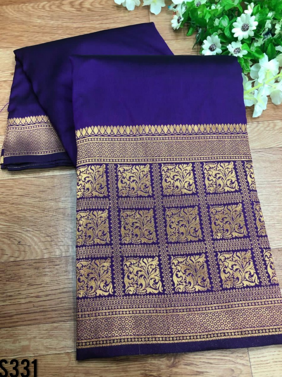 DESIGNER SOFT SILK SAREE S331