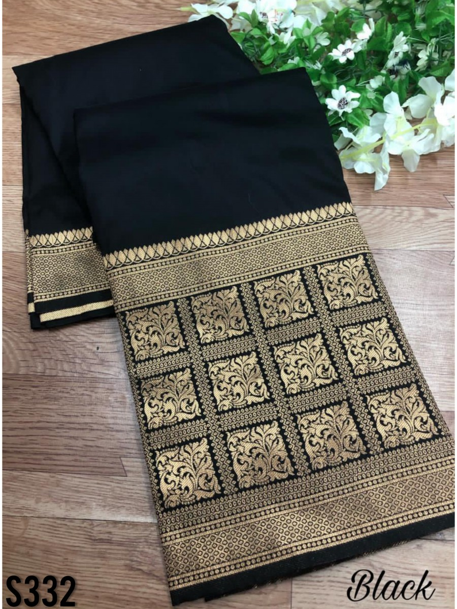 DESIGNER SOFT SILK SAREE S332