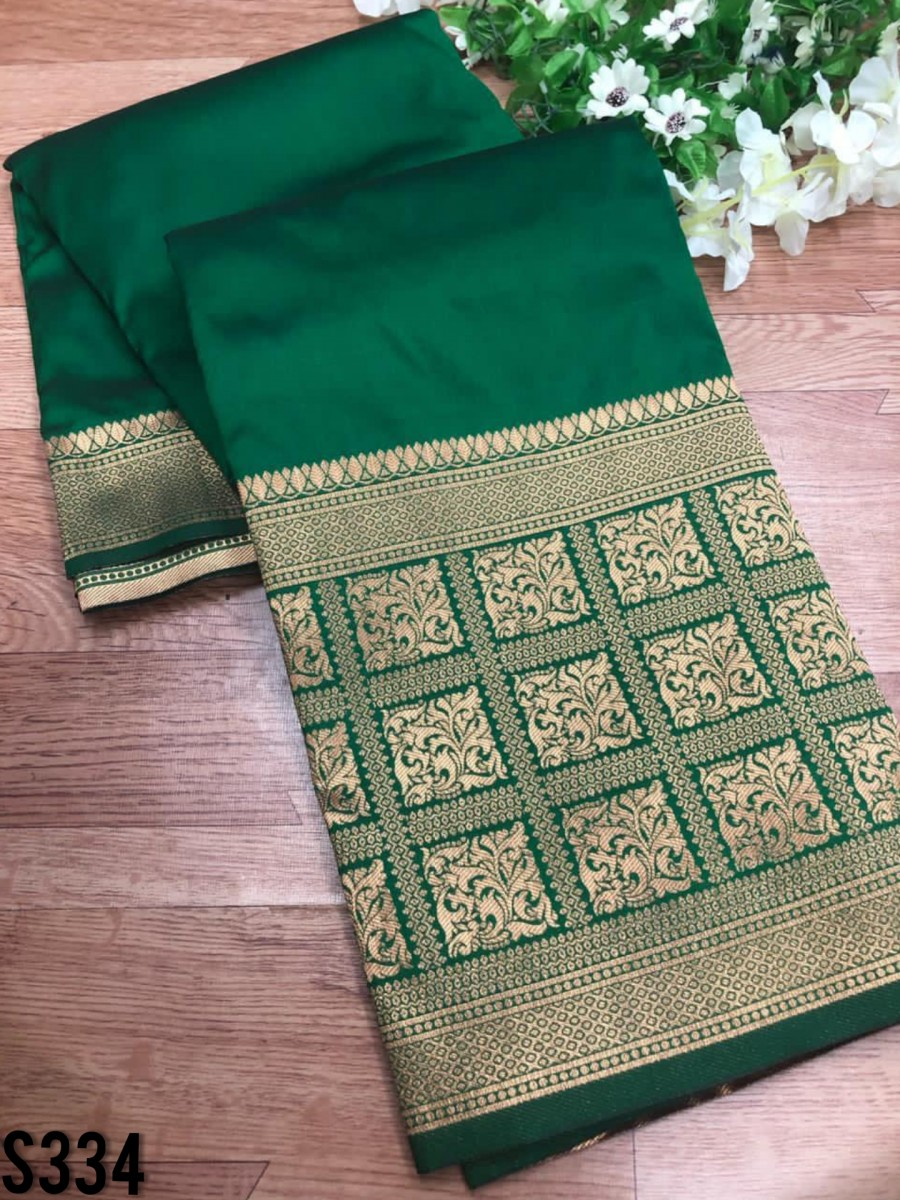 DESIGNER SOFT SILK SAREE S334