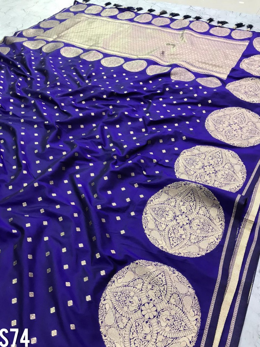 DESIGNER SOFT SILK SAREE S74
