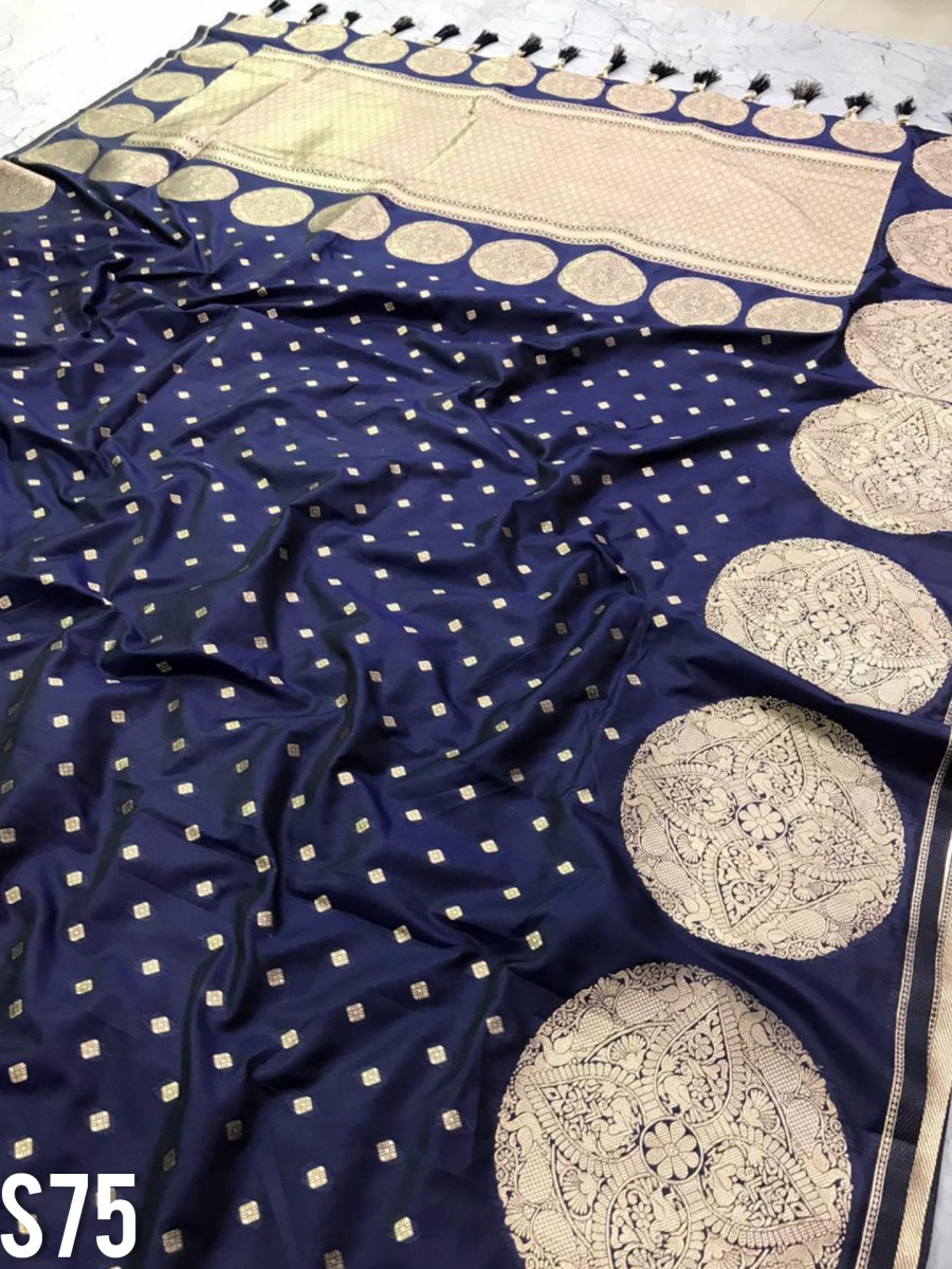 DESIGNER SOFT SILK SAREE S75
