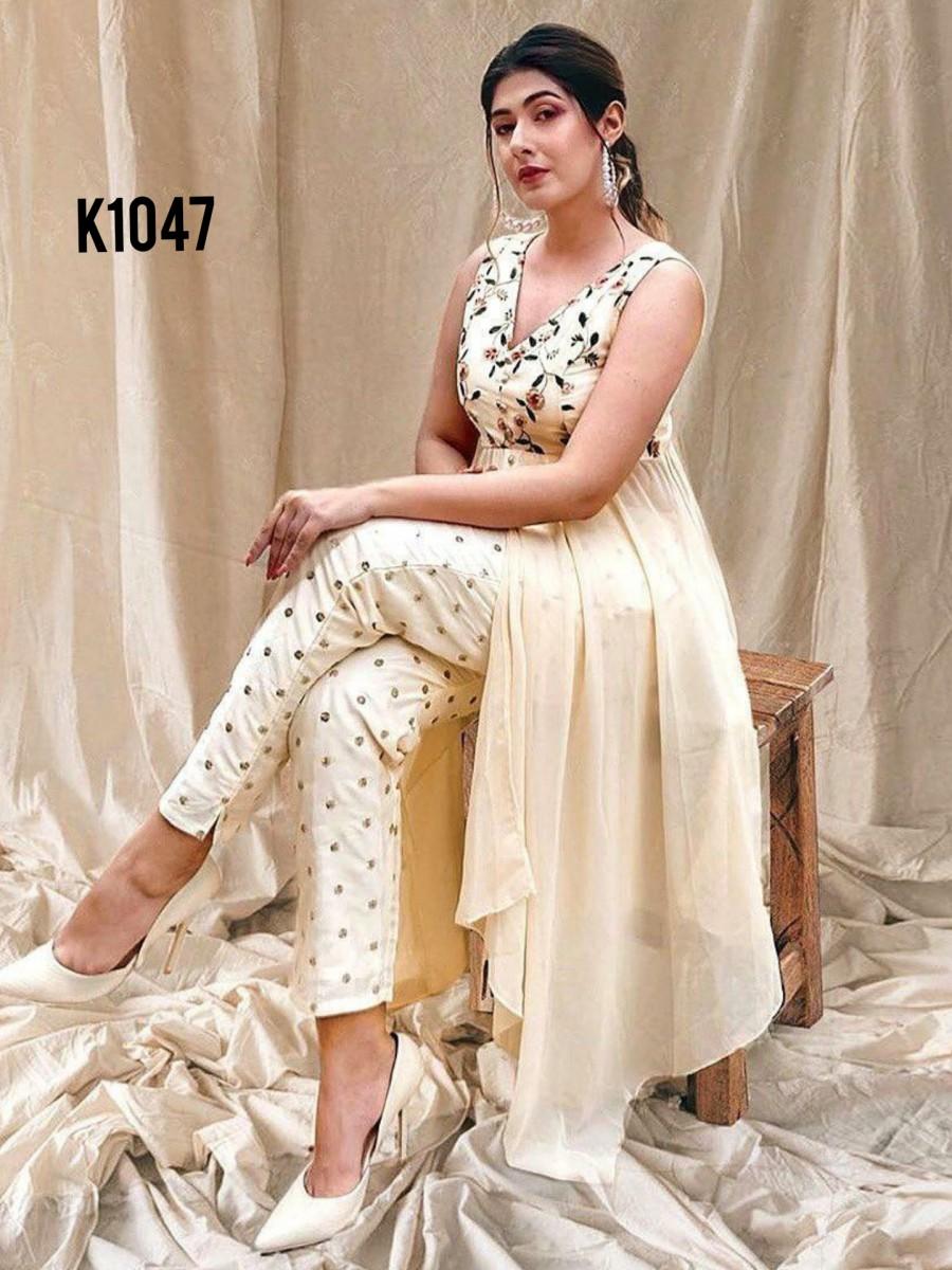 Pant style kurta set K1047