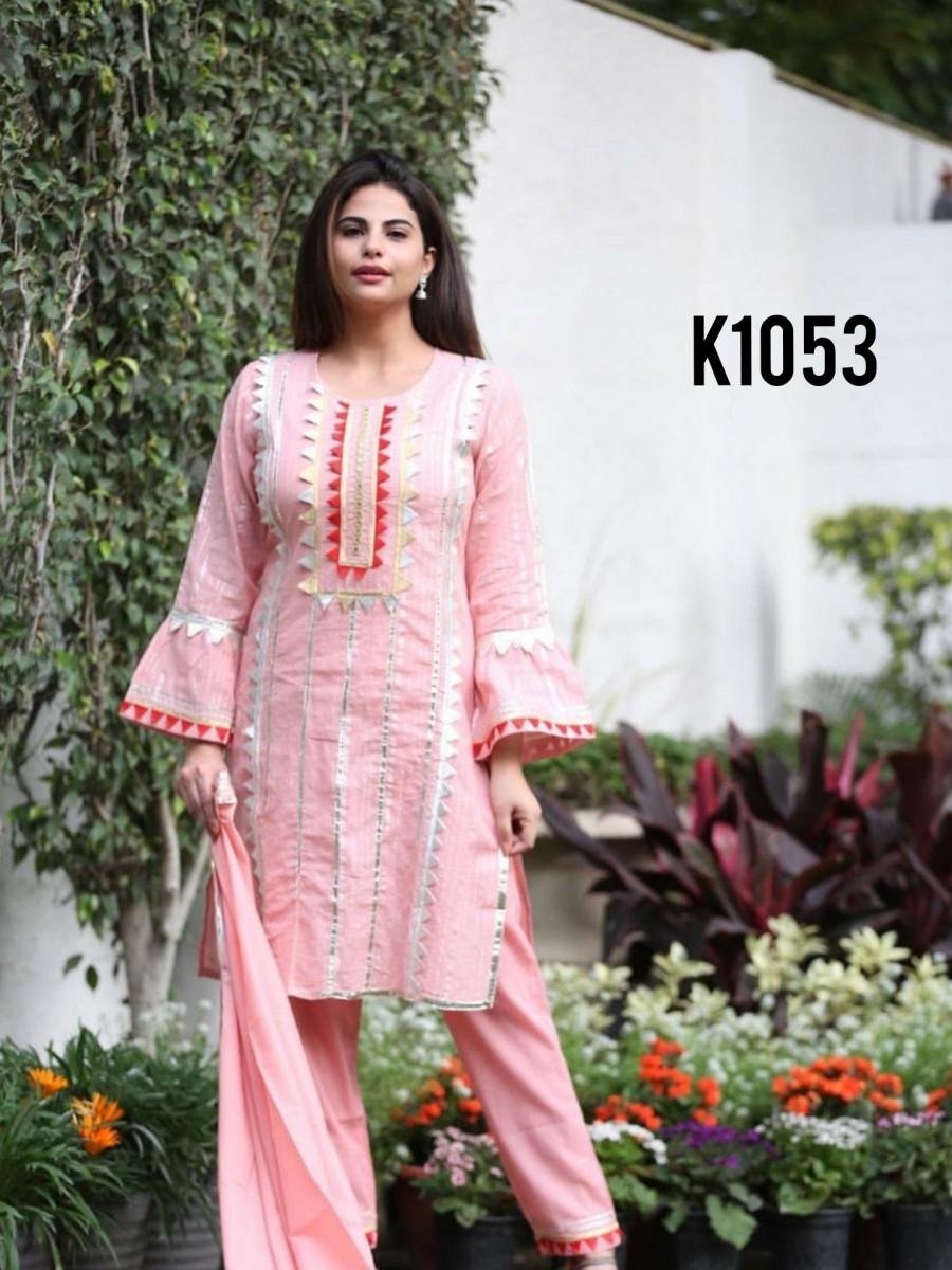 Pink kurta set K1053